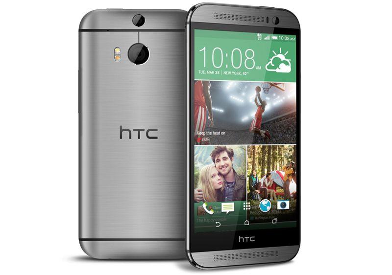 HTC One (M8) selges også i en variant med plass til to SIM-kort.Foto: HTC