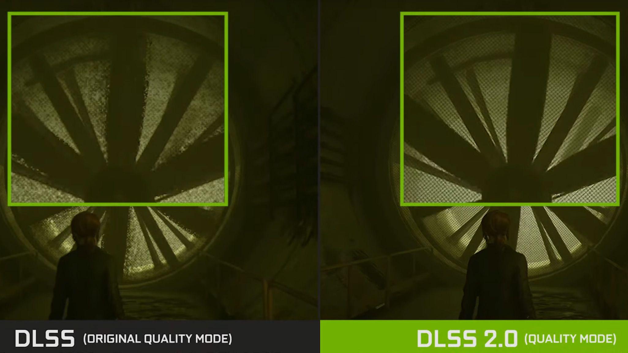 Så tydelig kan forskjellen mellom den originale og den nye DLSS-implementeringen være. Her fra «Control».