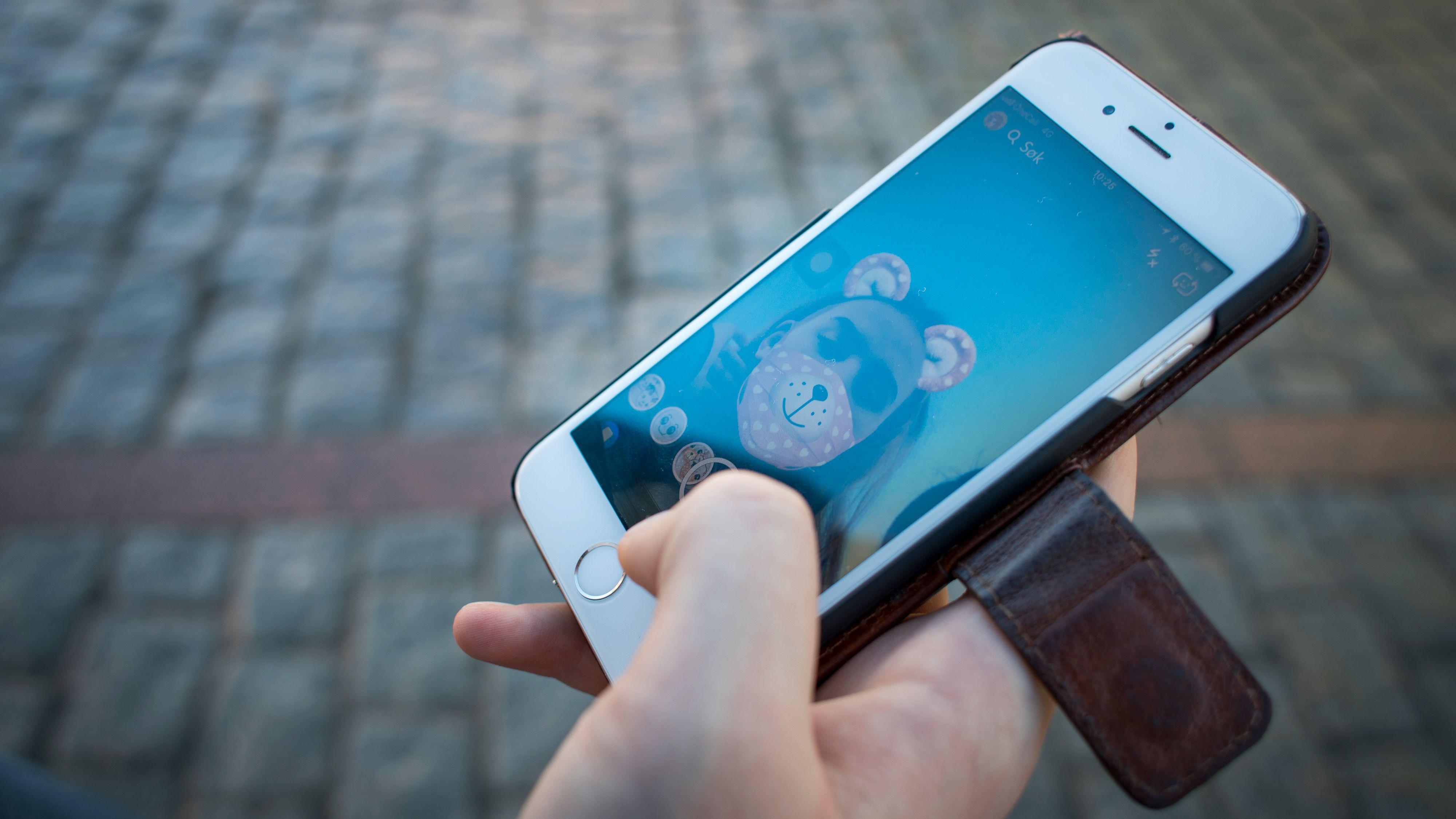 YouTube og Snapchat mest populært blant norske barn
