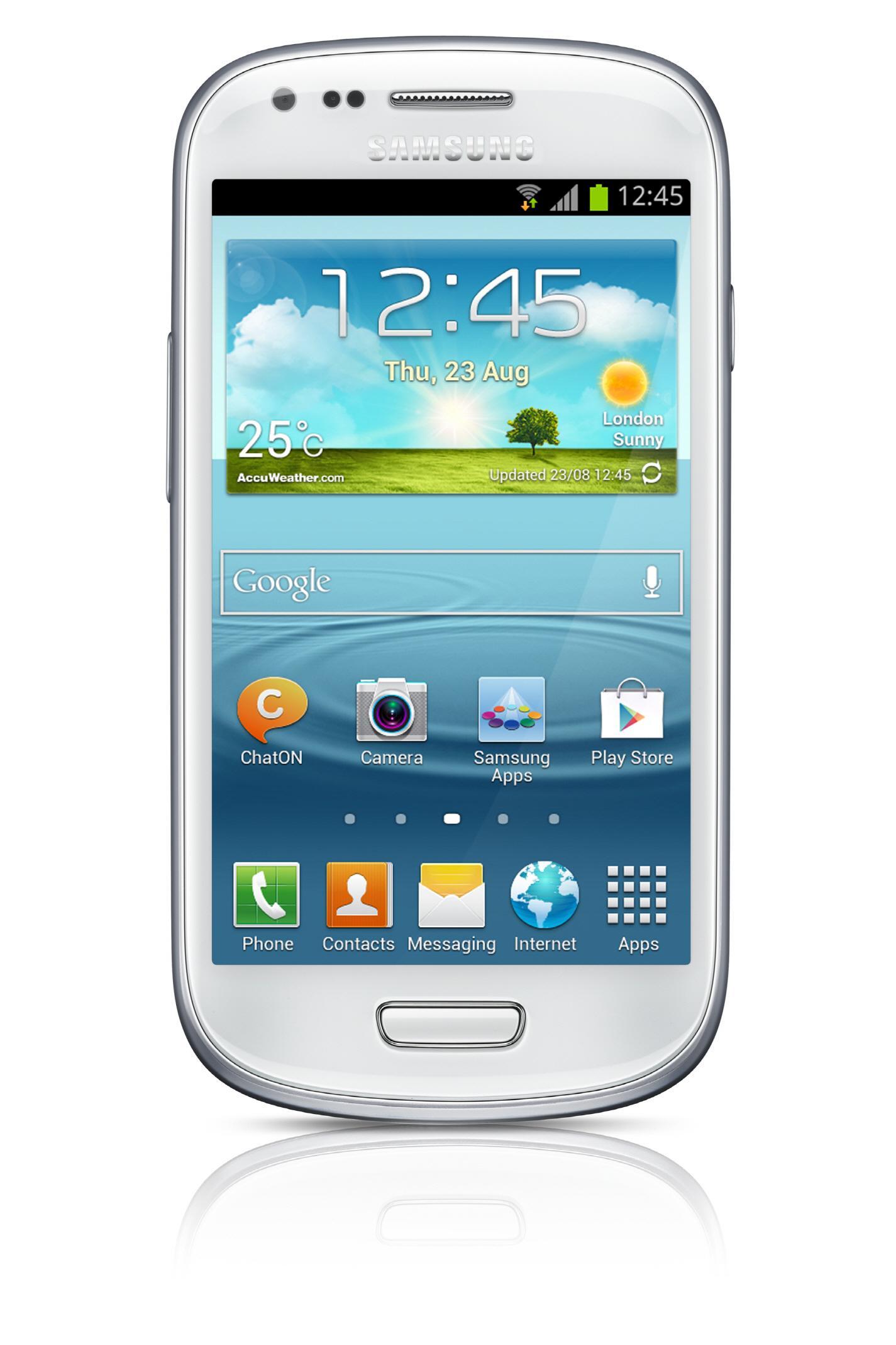 Samsung har vært en av ST Ericssons sterkeste konkurrenter med sine Exynos-brikker. Samtidig har selskapet også vært en stor kunde. Galaxy S III Mini er en av mange modeller som er basert på NovaThor-plattformen.Foto: Samsung