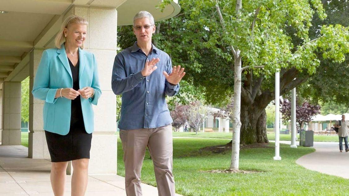 Apple og IBM inngår et enormt samarbeid