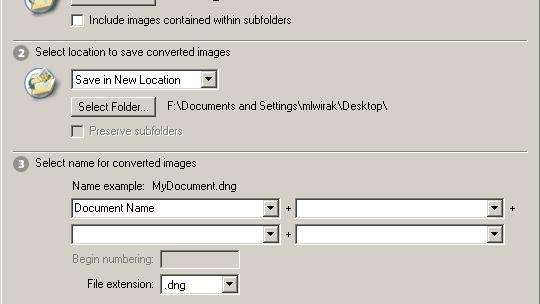 Adobe med standardisert RAW-format