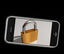Denne gangen symboliserer ikke hengelåsen den berømte iPhone-låsen, men et nytt sikkerhetsproblem. (Illustrasjon: Einar Eriksen)
