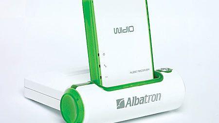 Widio: Trådløs streaming fra Albatron