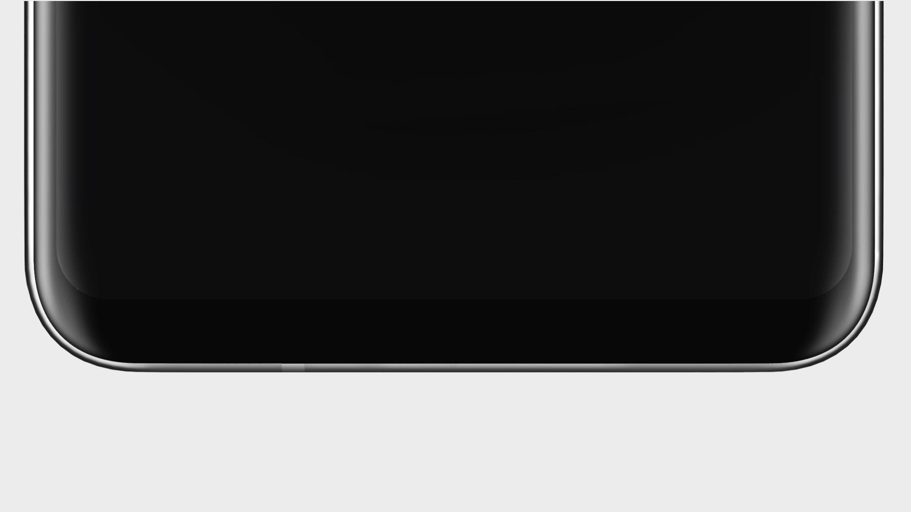 LG hinter om syltynne skjermrammer på V30 med dette bildet
