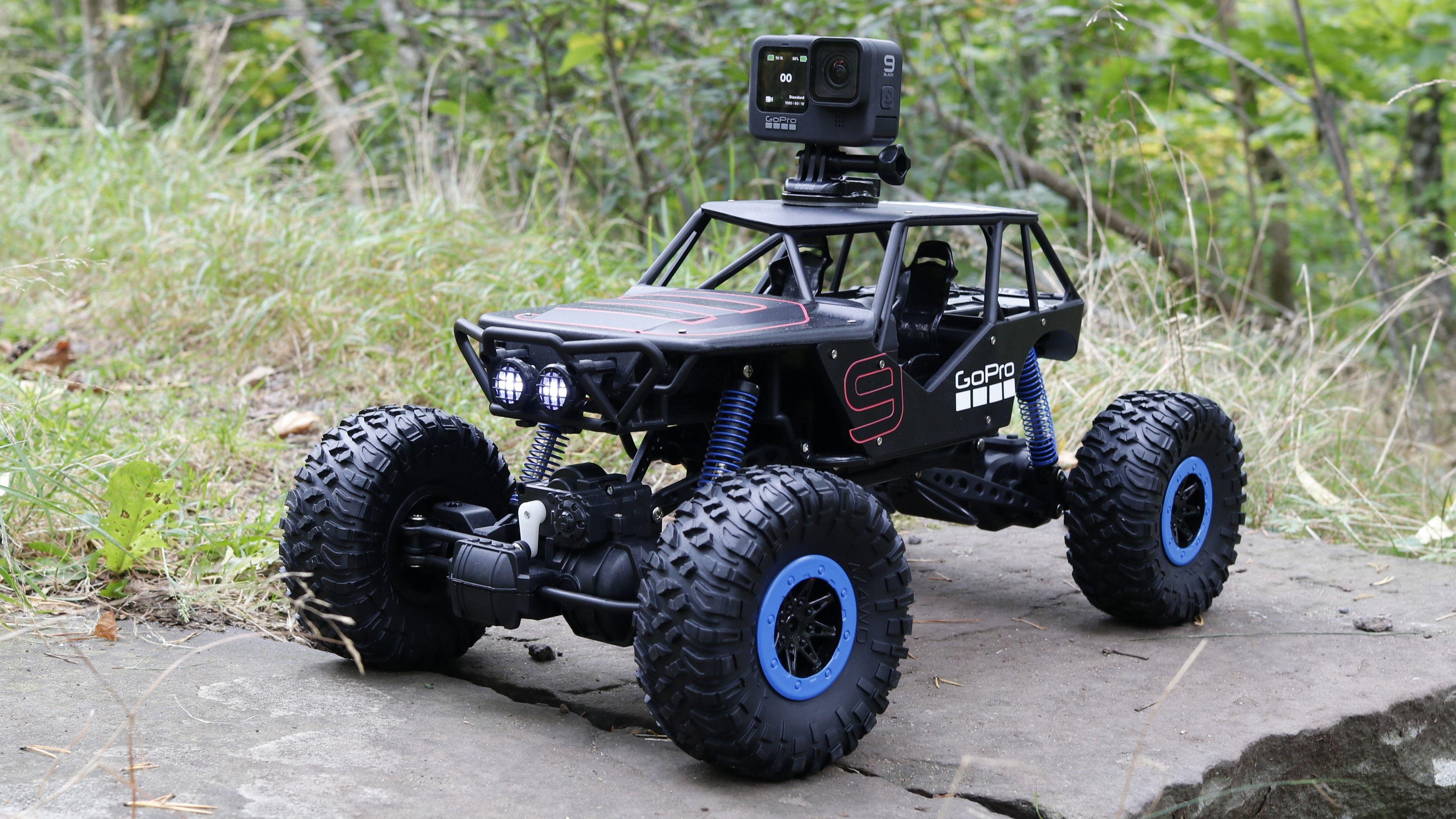 GoPro stilte med både kamera og en hendig testbil.