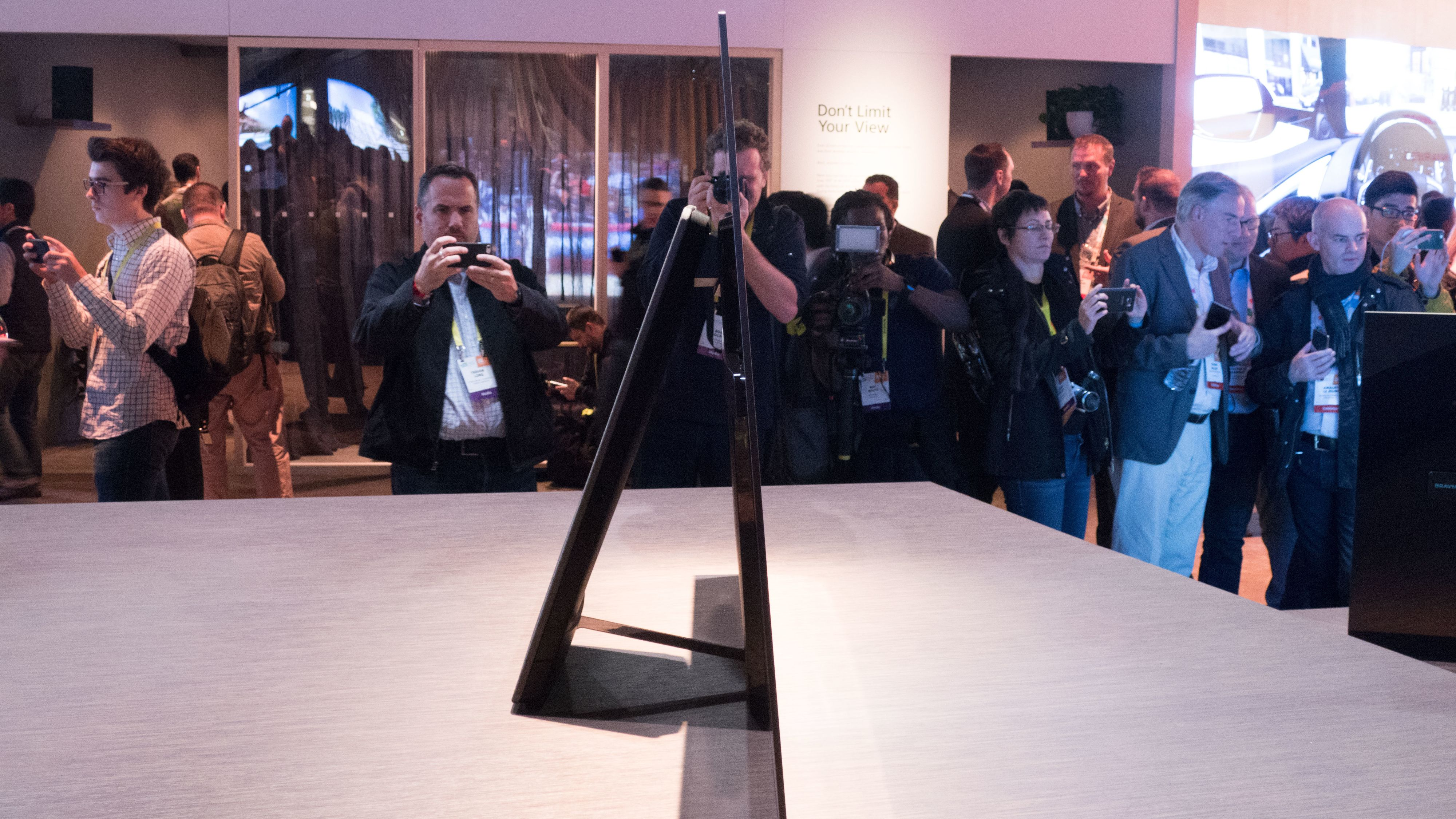 Sonys nye OLED er av det tynne slaget.