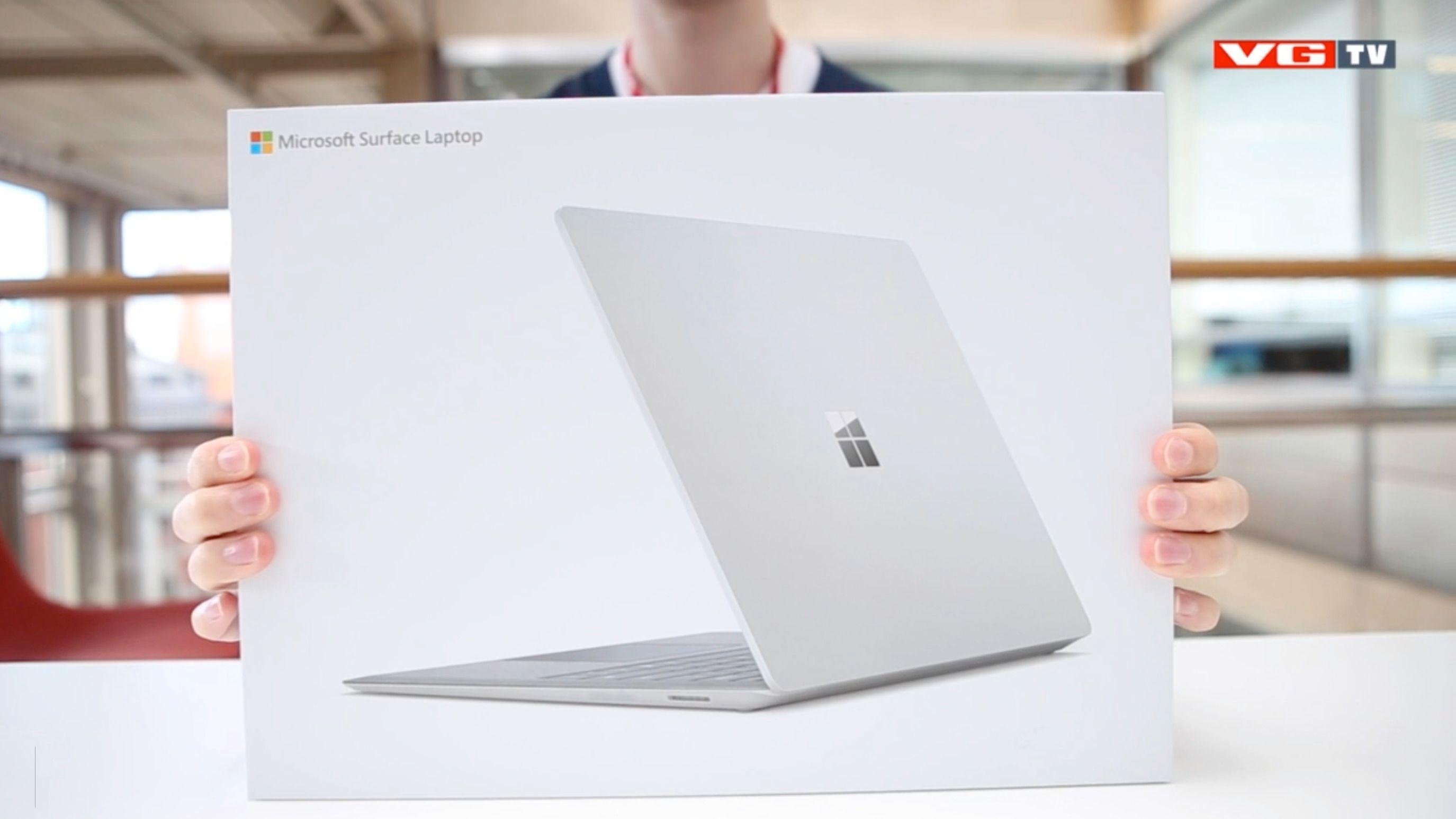 Video: Microsoft Surface Laptop