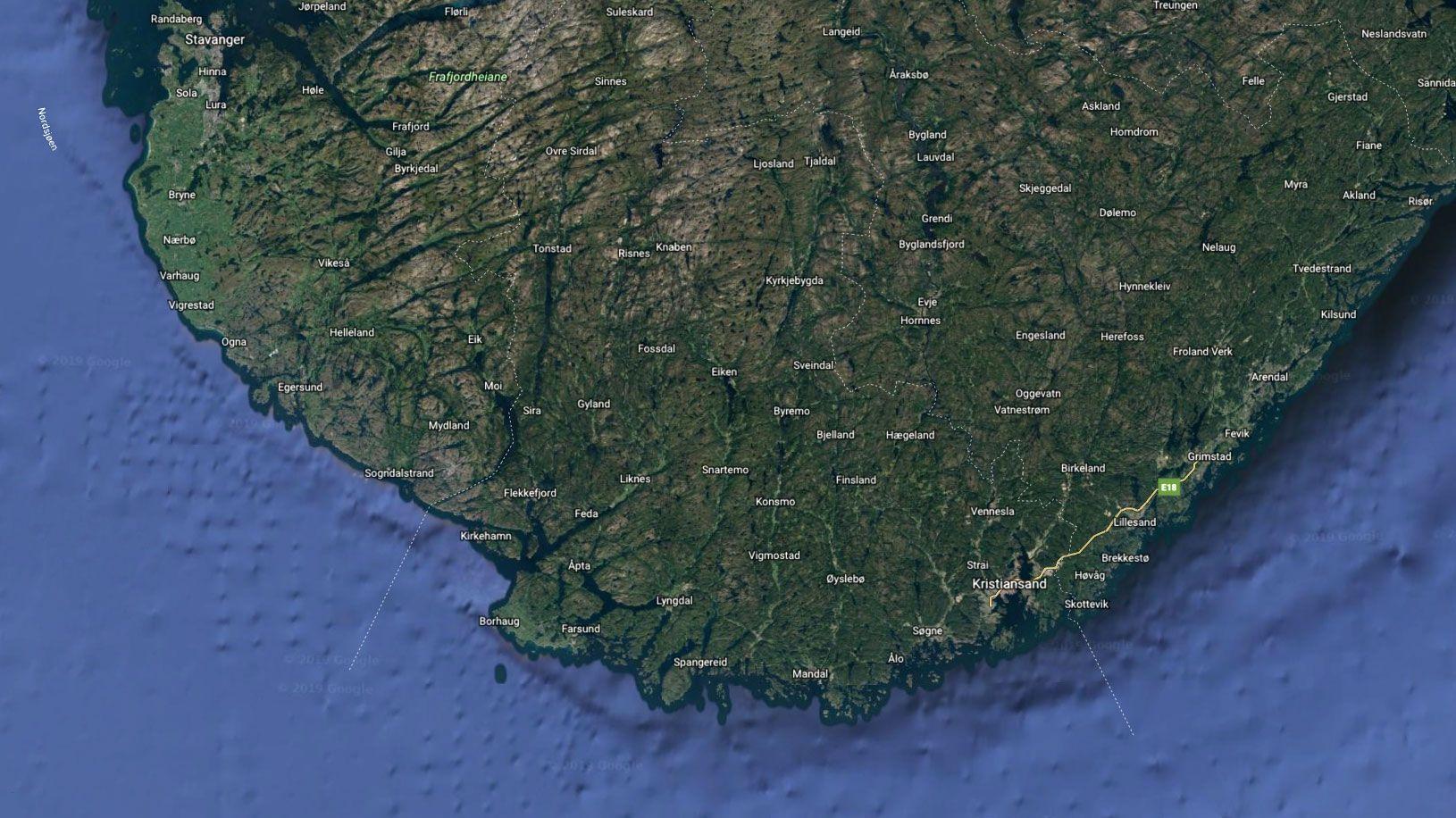 Googles kart dekker nå 98 prosent av Jordens befolkning