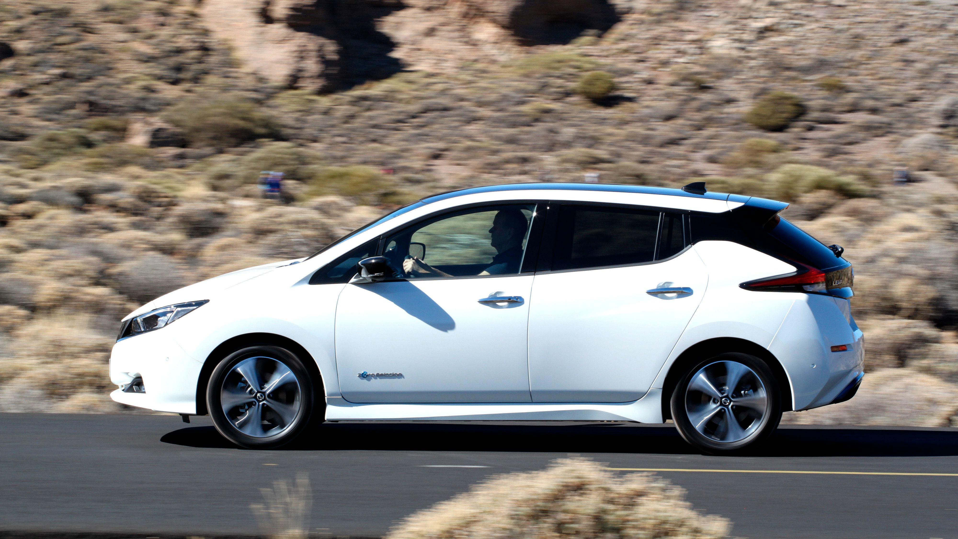 Nissan slipper nye detaljer om den nye Leaf-varianten med større batteri