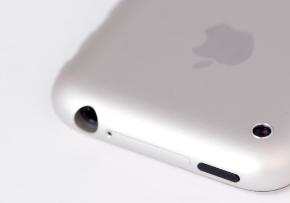 Toppen av første iPhone