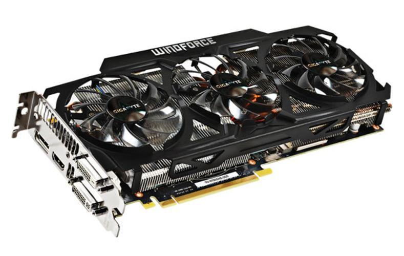 Gigabyte Geforce GTX 780 GHz Edition.Foto: Gigabyte