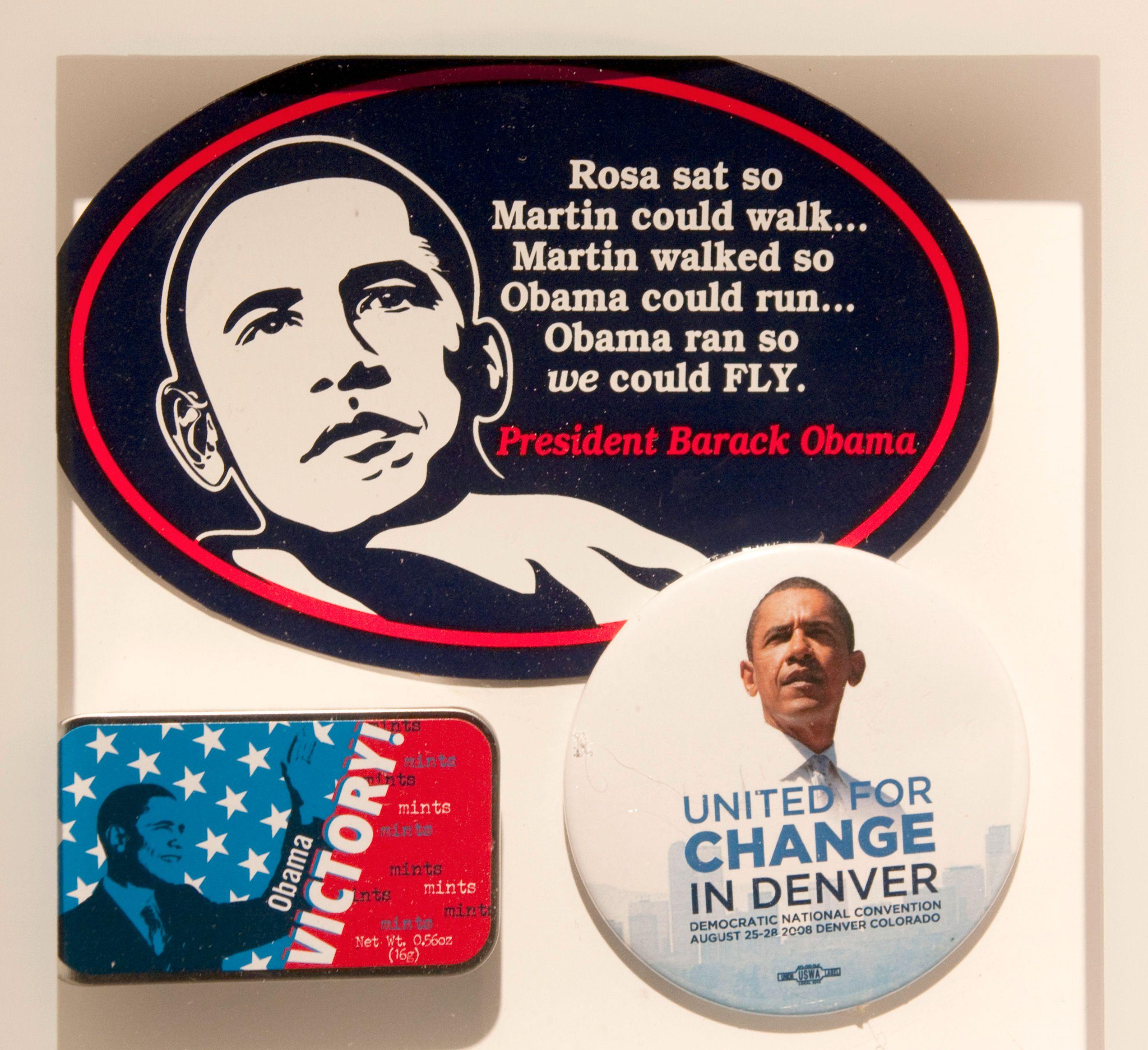 Valgkampeffekter fra Obamas kampanje.