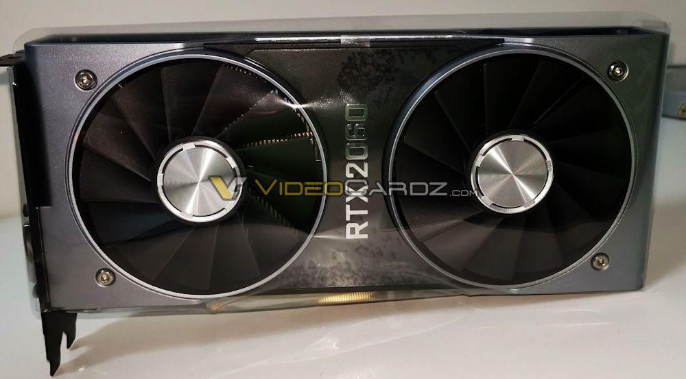 Dette er Nvidias RTX 2060, som Nvidia vil vise frem 7. januar.