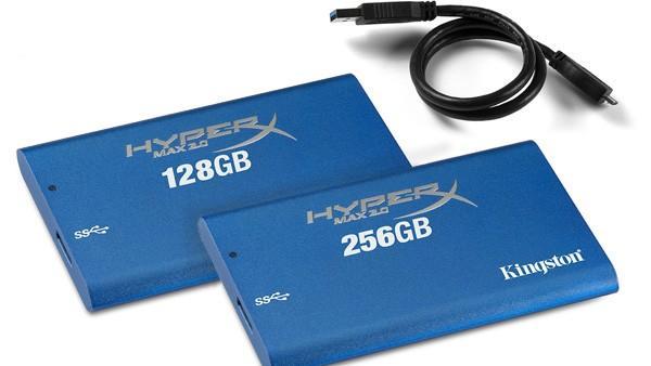 Kingston lanserer ekstern SSD