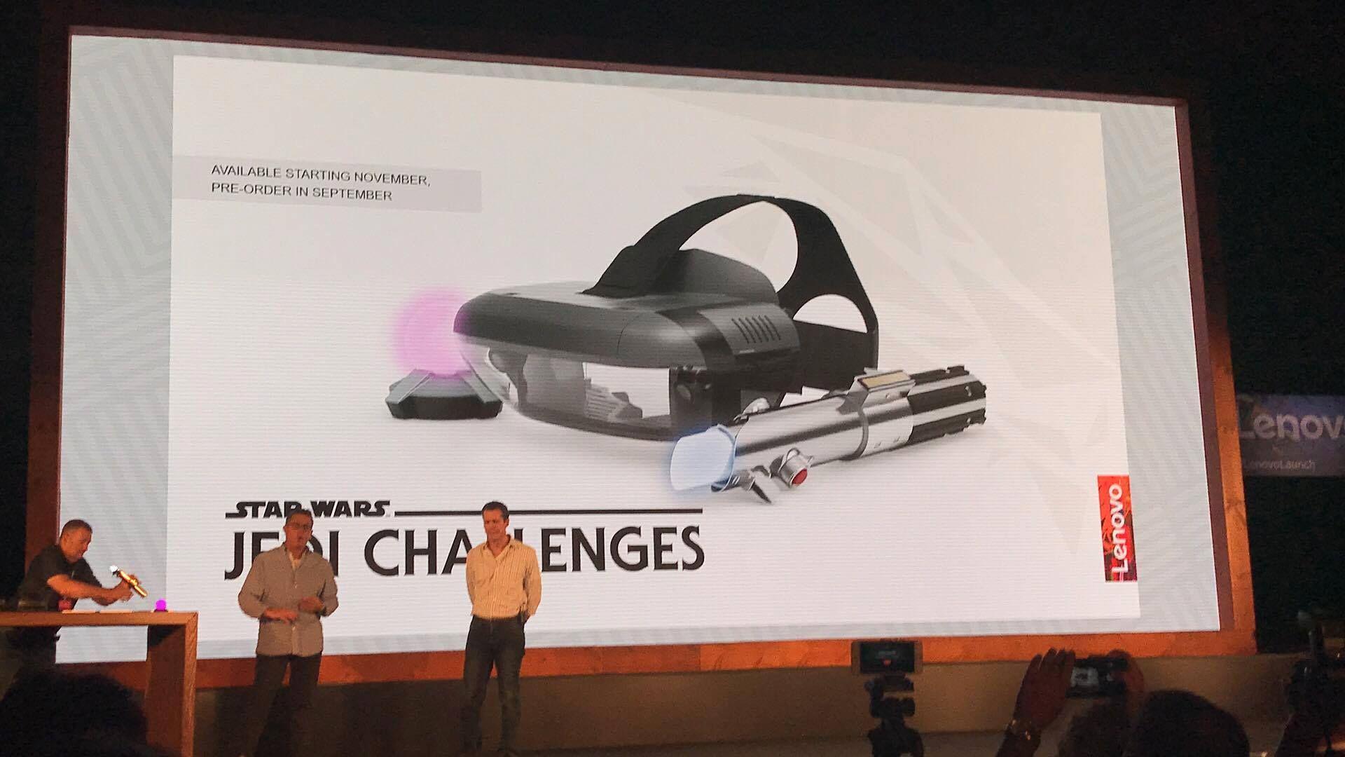 Her er Star Wars-settet Lenovo lanserte med Mirage AR!
