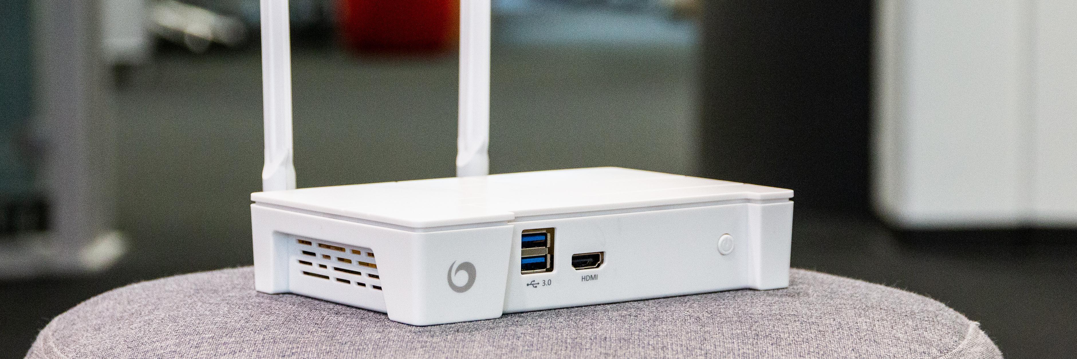 USB 3.0-portene kan ikke brukes for å dele innhold til andre enheter på nettverket.