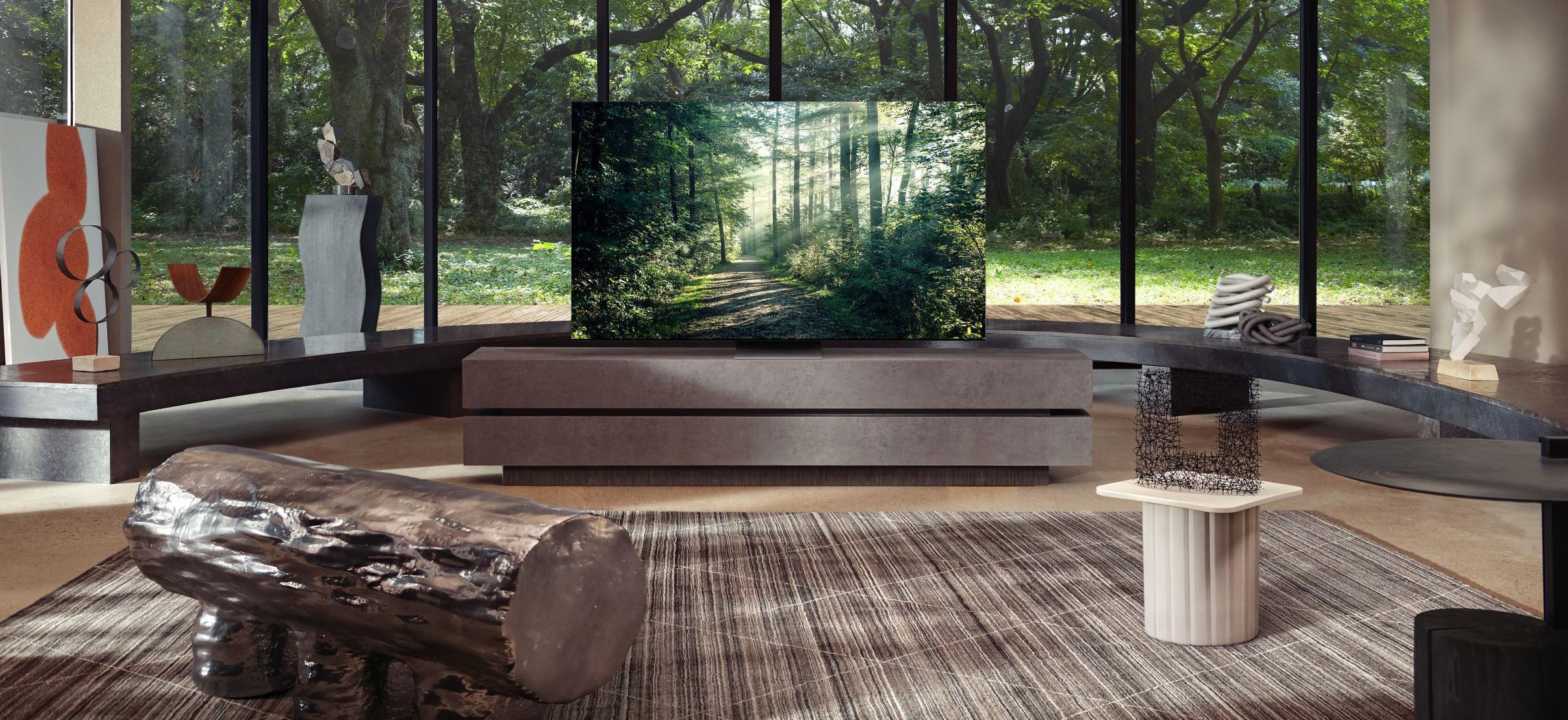 De beste TV-ene har nå flere kanaler med høyttaler innebygget i skjermen.