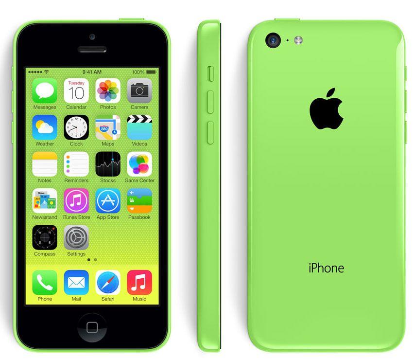 Dagens iPhone 5C er på vei ut. Foto: Apple