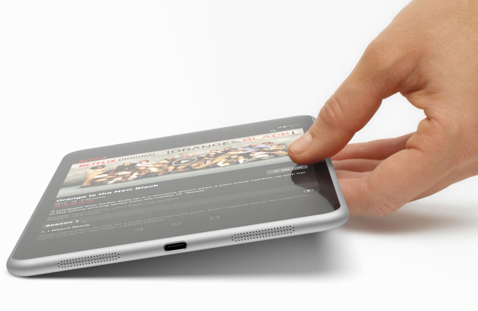 Nettbrettet Nokia N1. Foto: Nokia