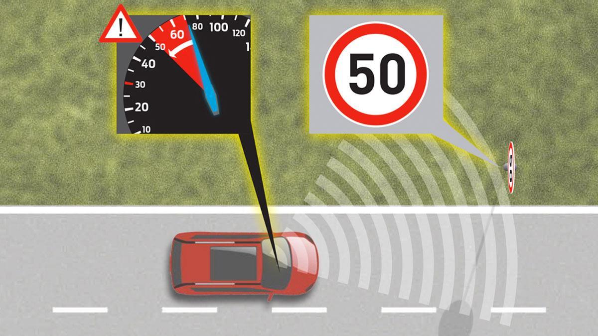Fords nye bil tvinger deg til å holde fartsgrensen