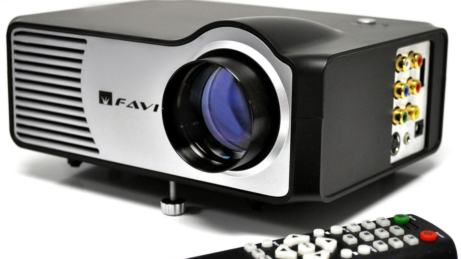 Liten og anvendelig projektor