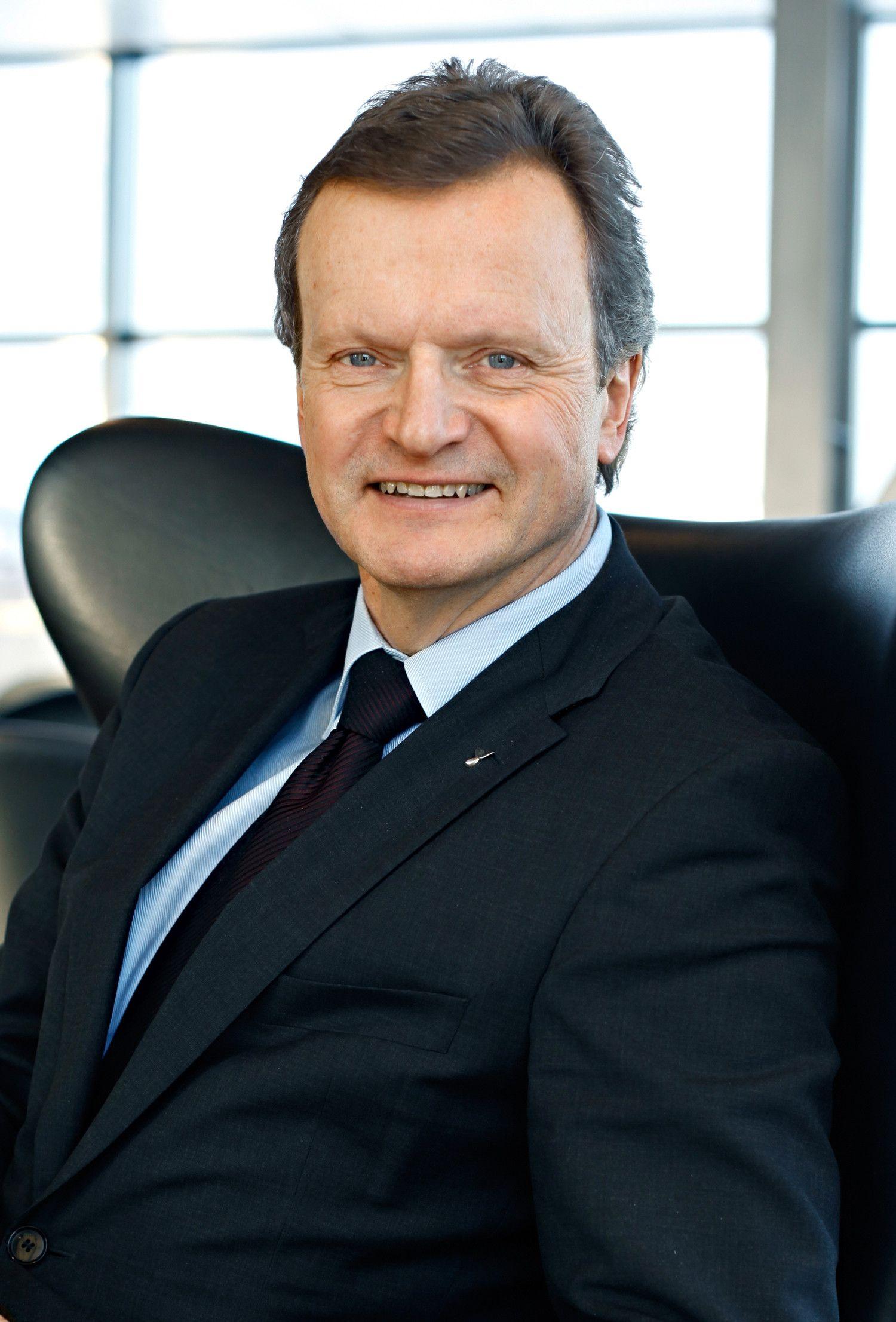 Jon Fredrik Baksaas, konsernsjef i Telenor.