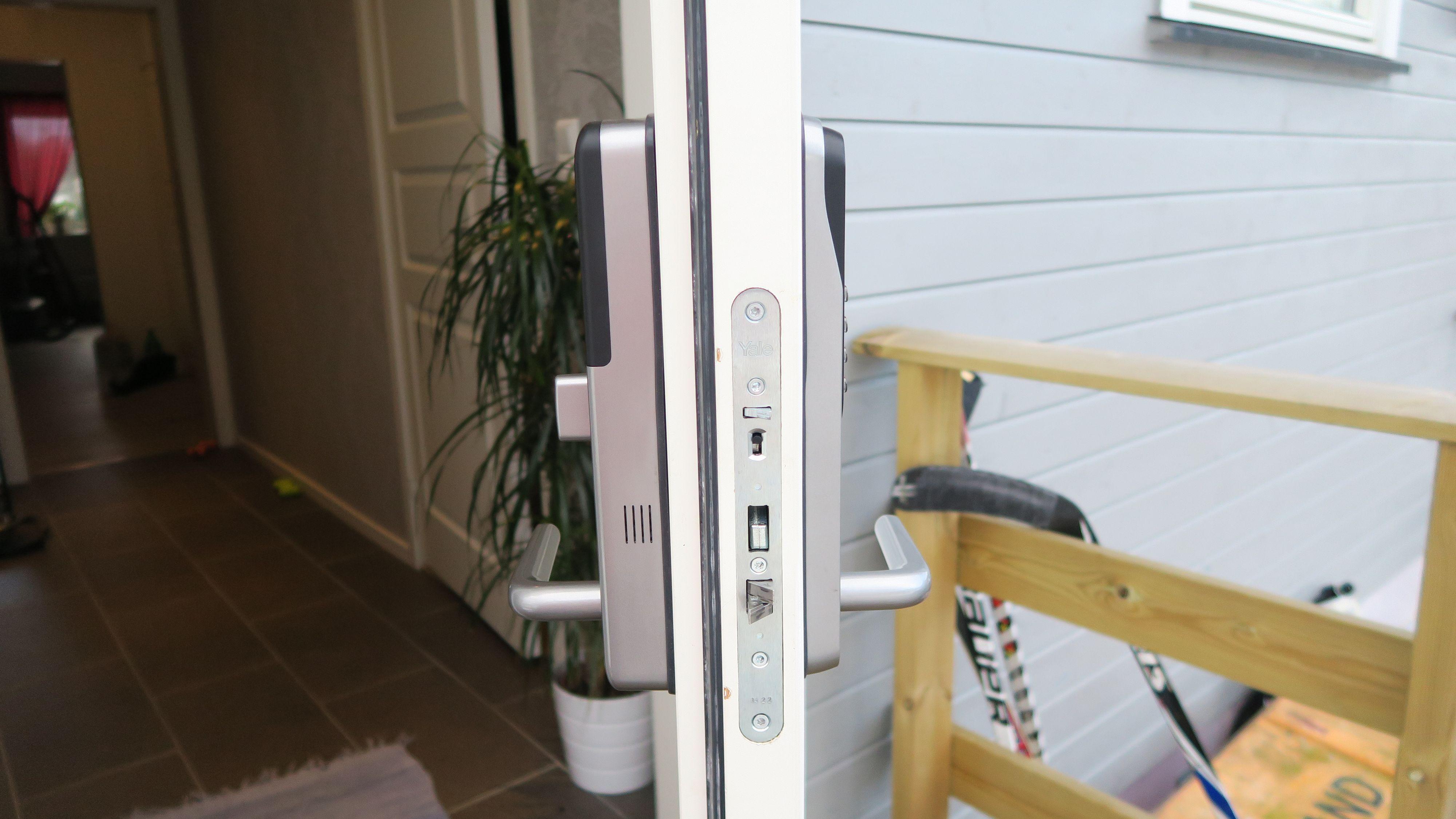 Låsen bygger noe mer enn vanlige låser. Foto: Ole Henrik Johansen / Tek.no