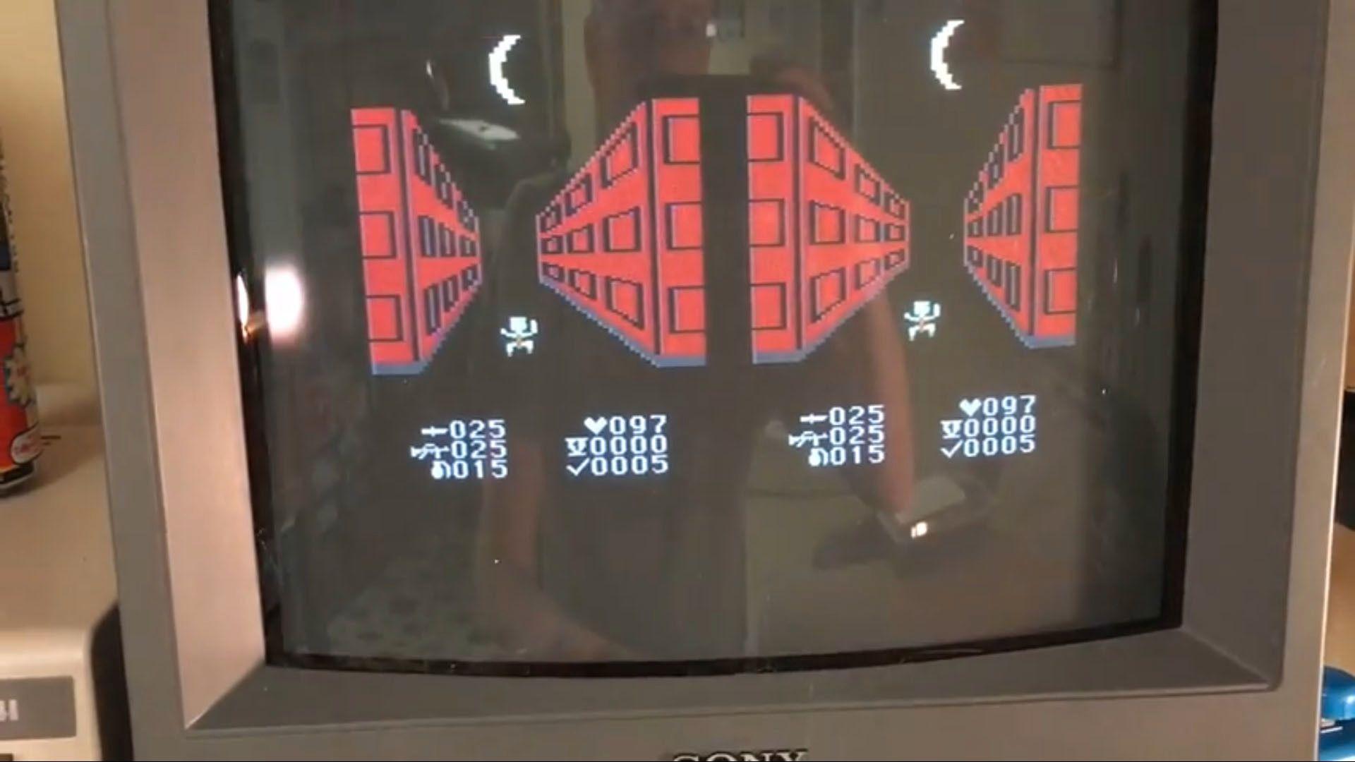 Her er et VR-spill for Commodore 64