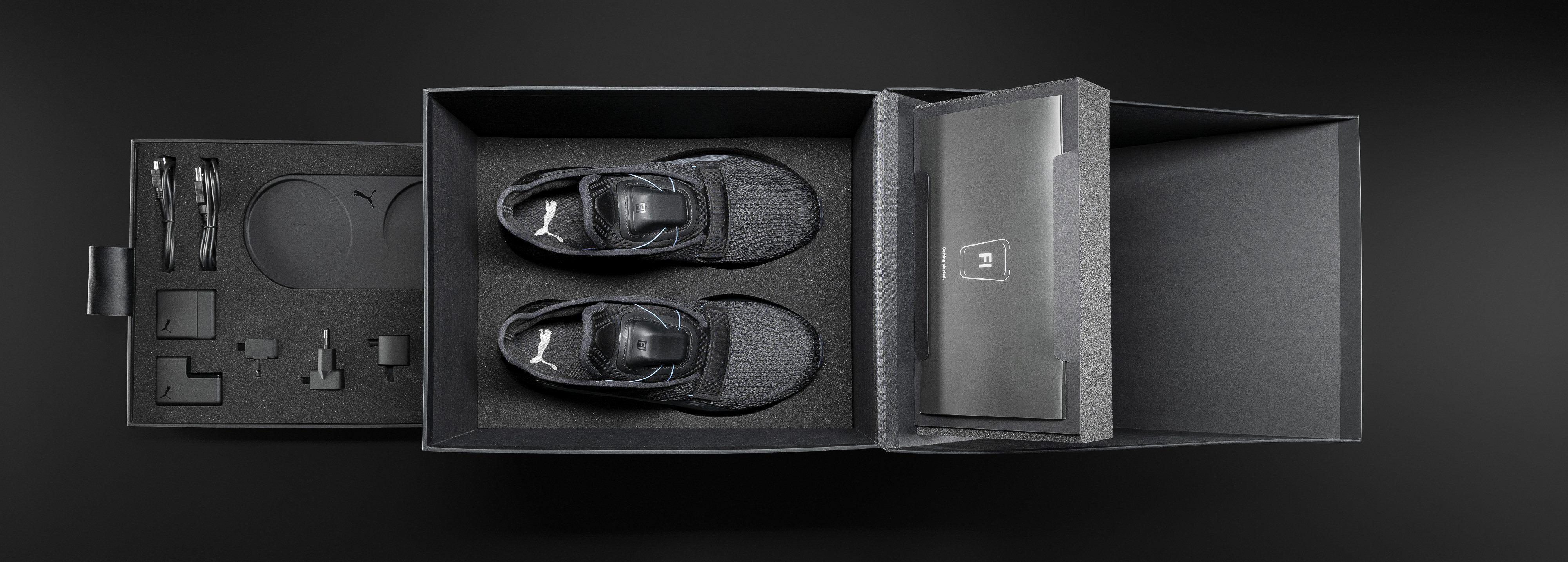 Moderne sko kommer med mer enn papir i esken.