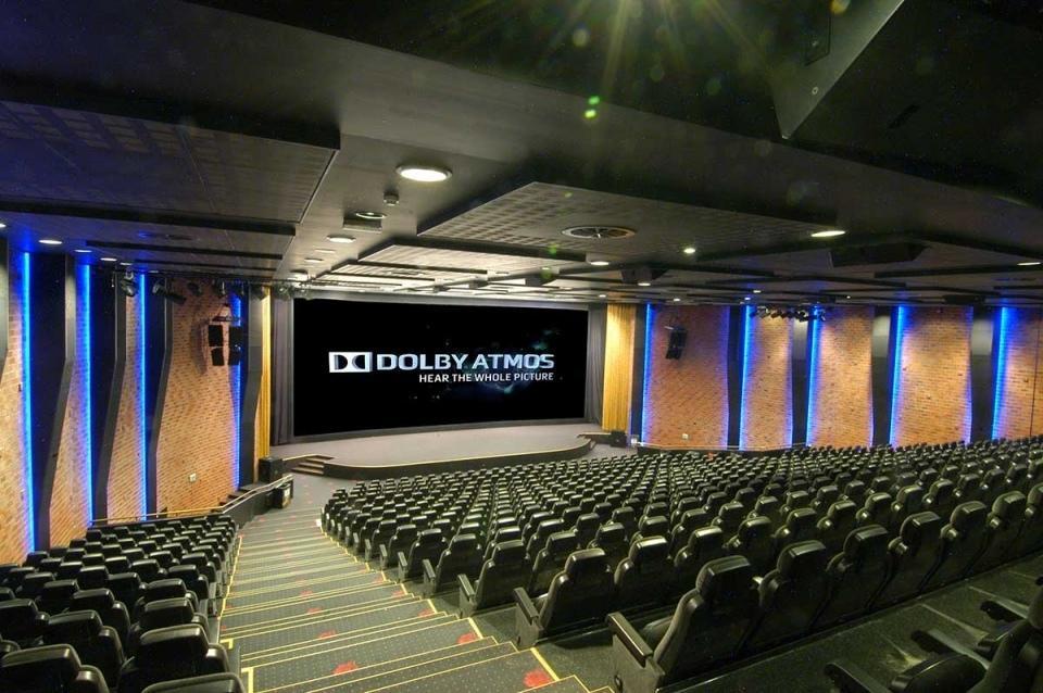 Kristiansand Kino var tidlig ute med å installere Dolby Atmos. .Foto: Kristiansand Kino