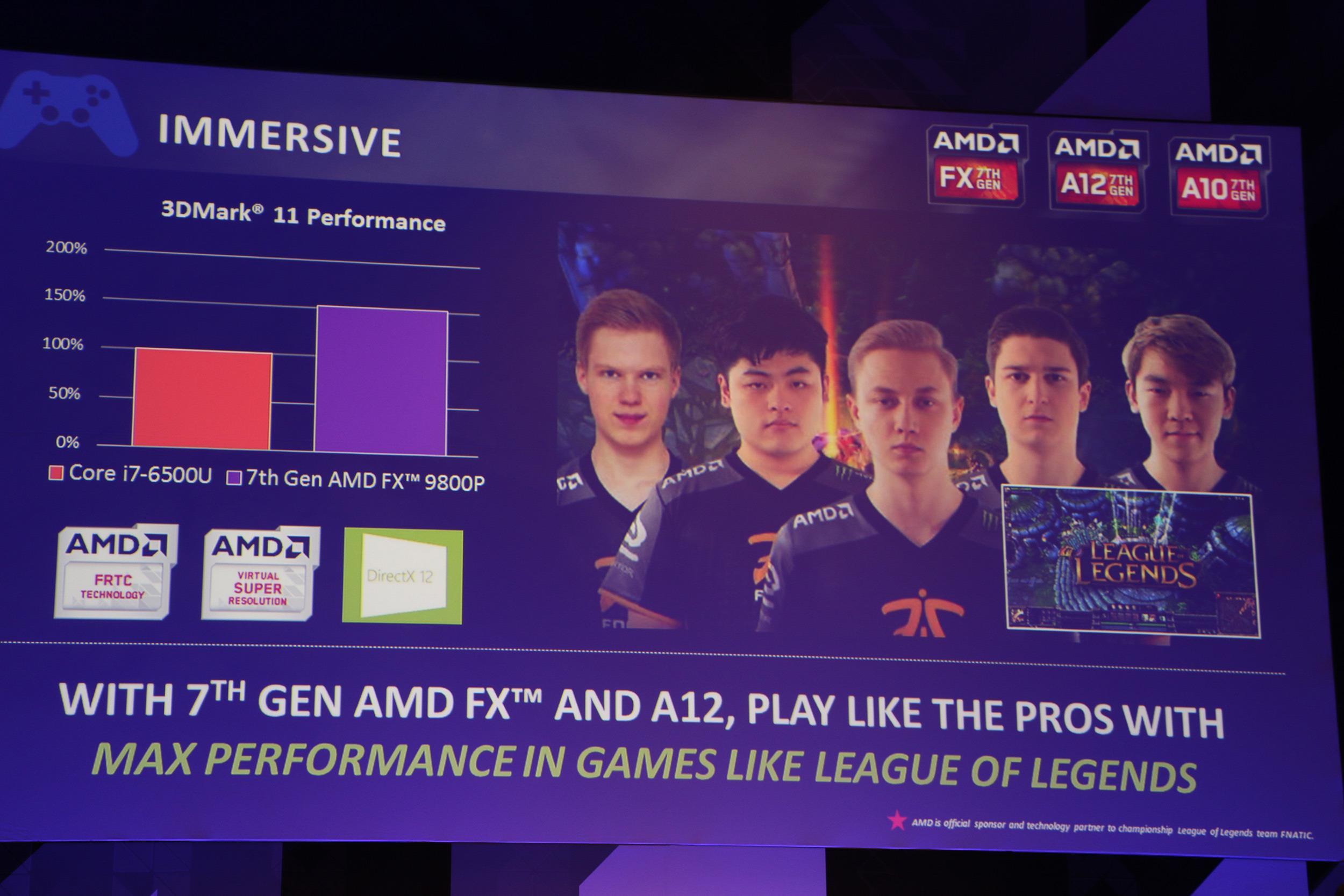 AMDs Bristol Ridge-APU-er skal i spill ha en fordel over Intels prosessorer med integrert grafikk.