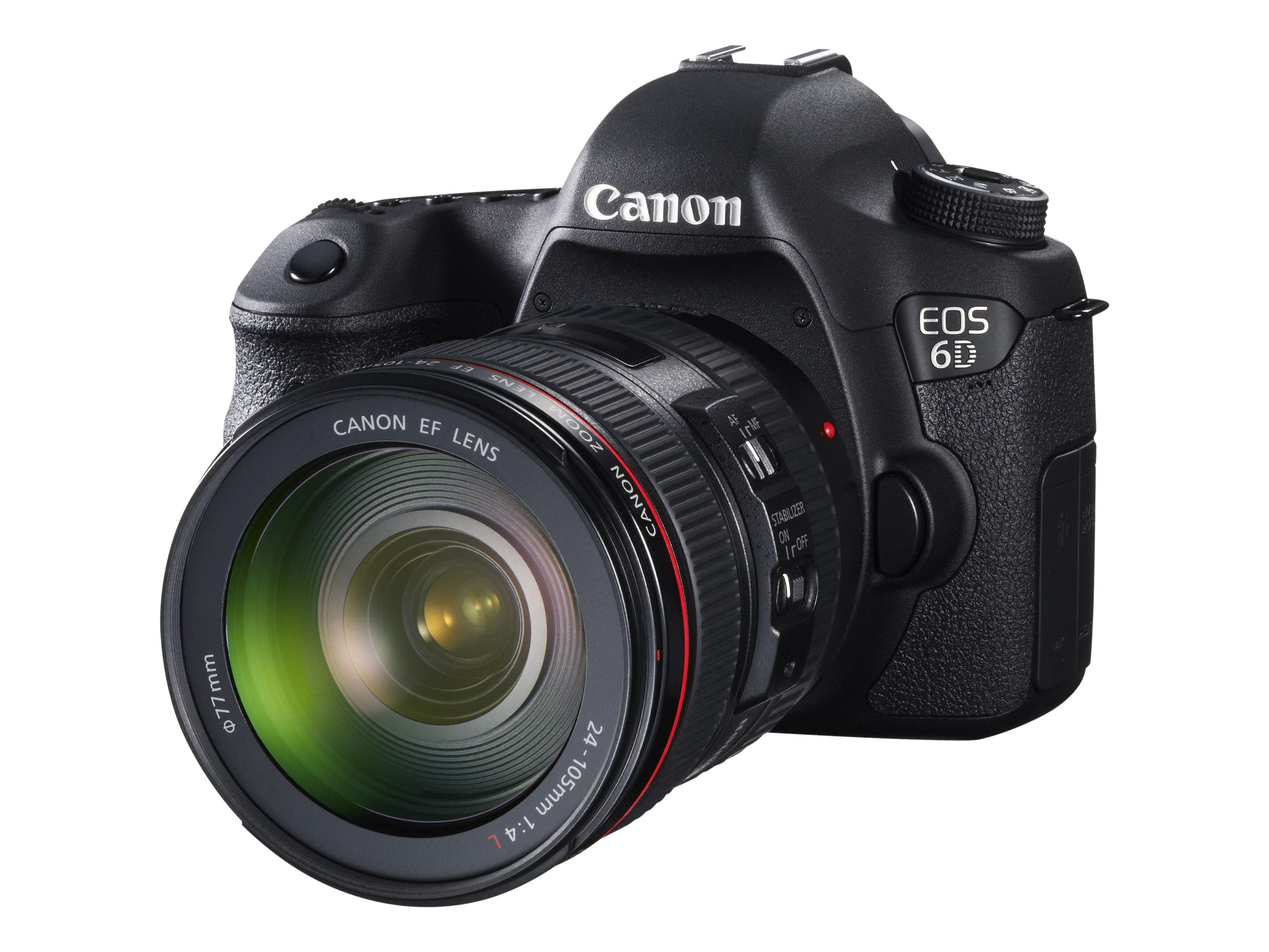 Canon EOS 6D.