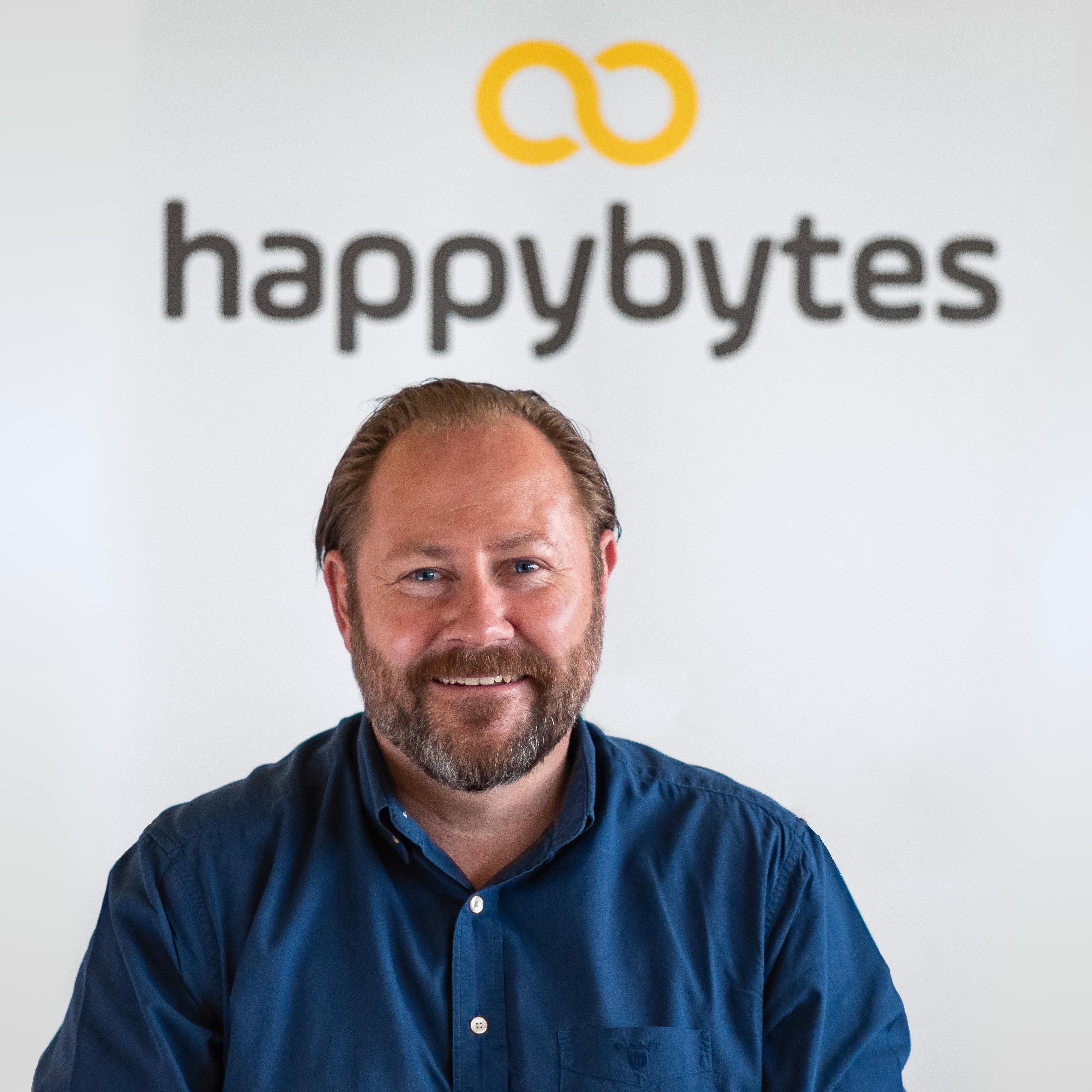 Thomas Sandakaker, leder i Happybytes.