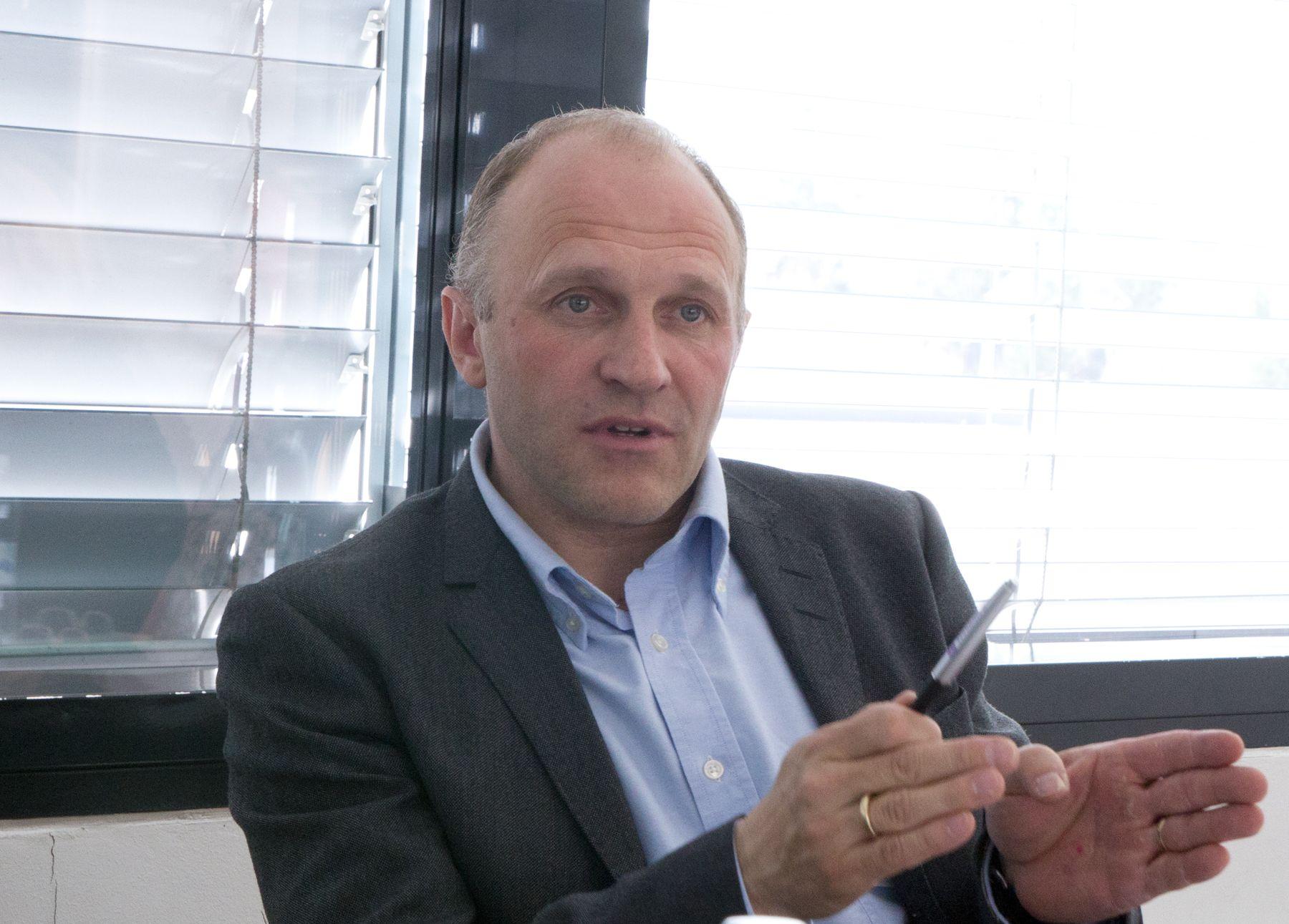 Tore Larsen Orderløkken, leder i NorSIS.Foto: Rolf B. Wegner, Hardware.no
