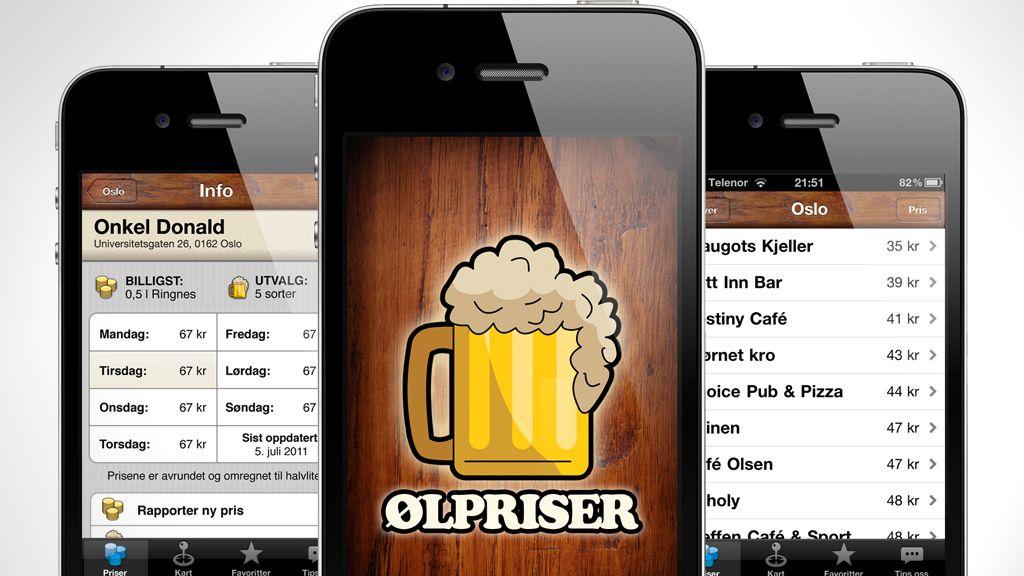 App-en for øltørste nordmenn