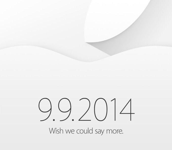 Slik ser høstens Apple-invitasjon ut. Den er uvanlig fri for hint om hva vi har i vente.