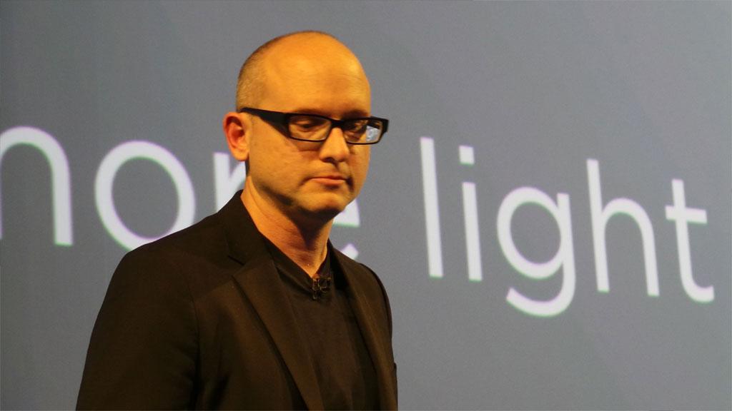 Scott Croyle er ansvarlig for designen på HTC One. Vi mener han har gjort en god jobb.Foto: Espen Irwing Swang, Amobil.no