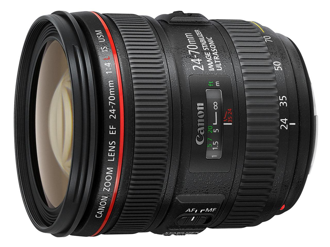 Canon EF 24-70mm f/4L IS USM.Foto: Canon