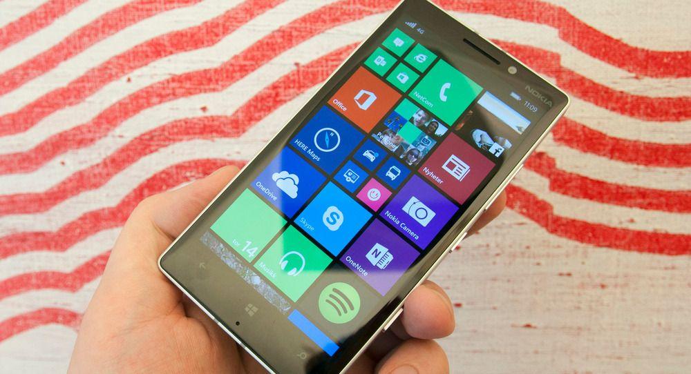 Lumia 930 er foreløpig siste toppmodell med Windows Phone. Foto: Finn Jarle Kvalheim, Tek.no