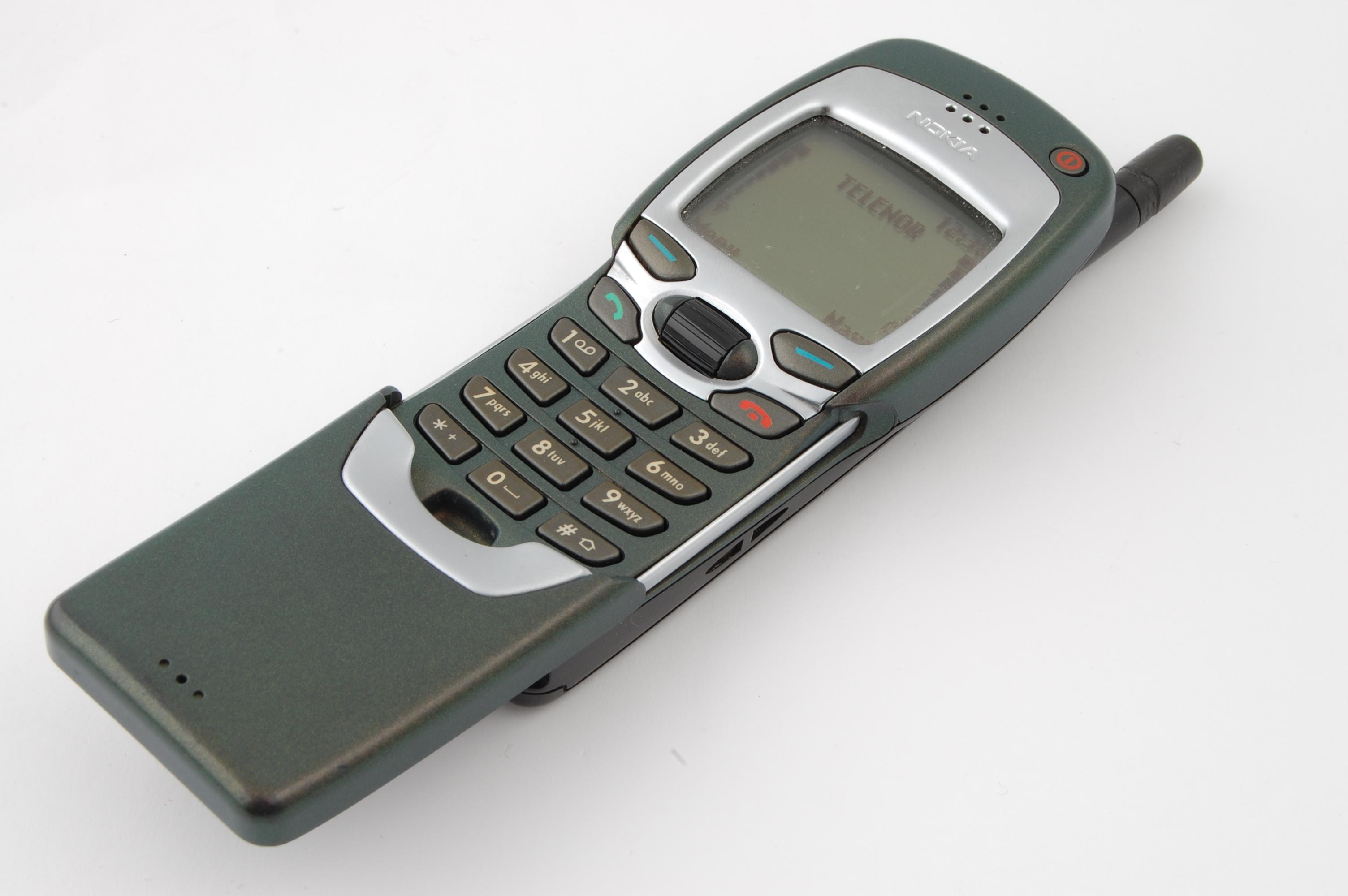 WAP-telefonen Nokia 7110 kostet 9000 kroner på et tidspunkt.Foto: Finn Jarle Kvalheim
