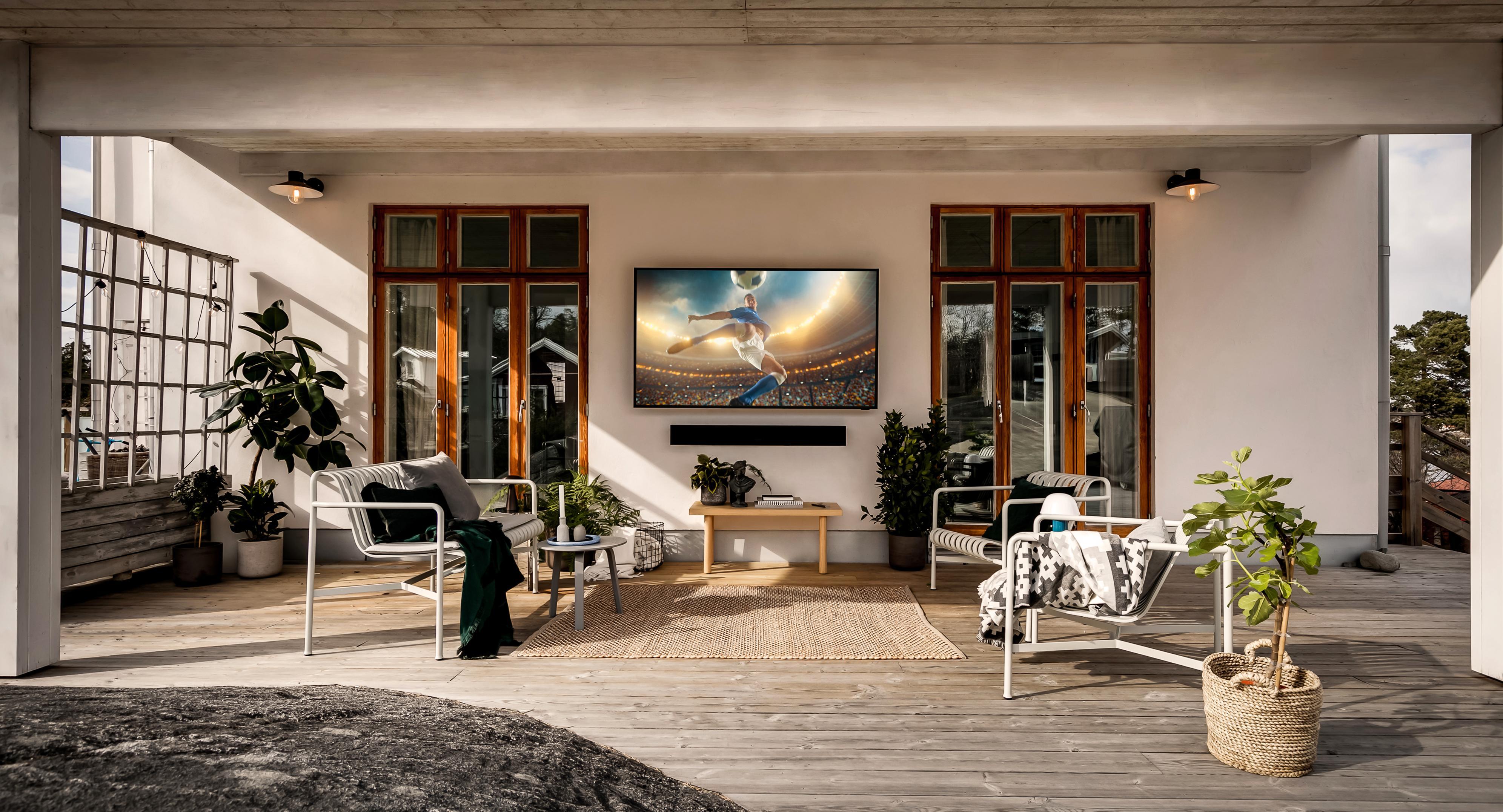 Samsungs terrasse-TV kommer til Norge