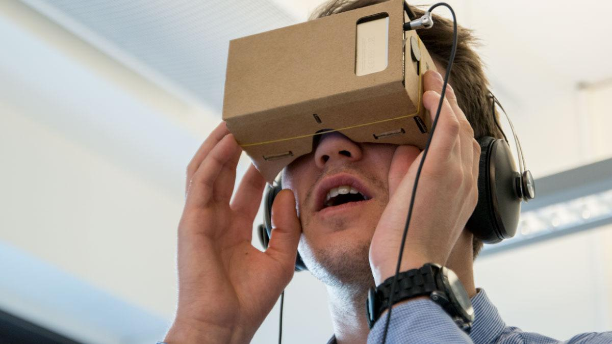 Slik får du dine egne VR-briller for 20 kroner