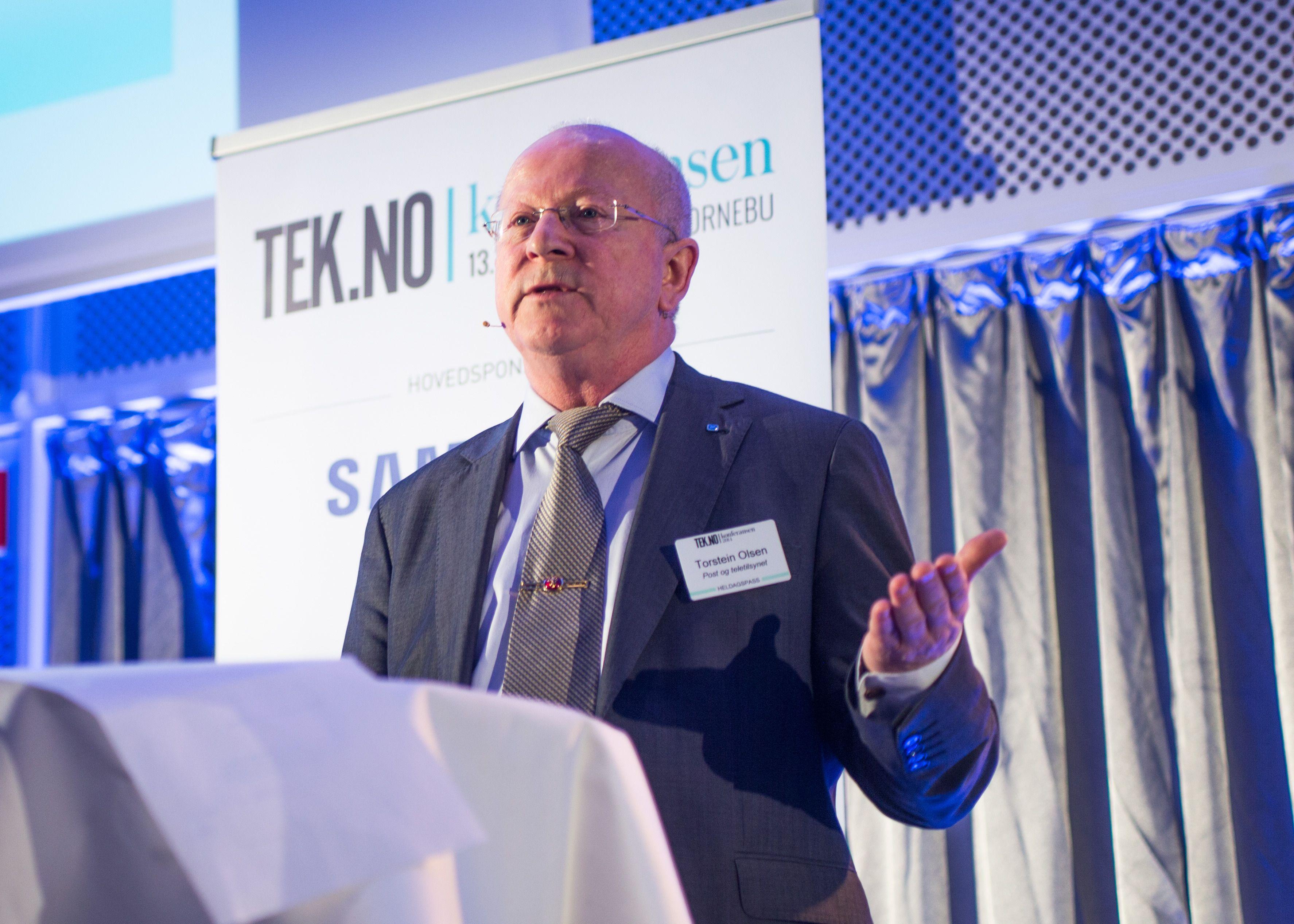 Direktør Torstein Olsen i Nasjonal kommunikasjonsmyndighet