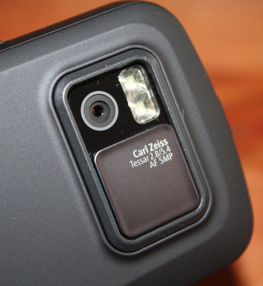 Kameraet har fem megapikslers oppløsning.