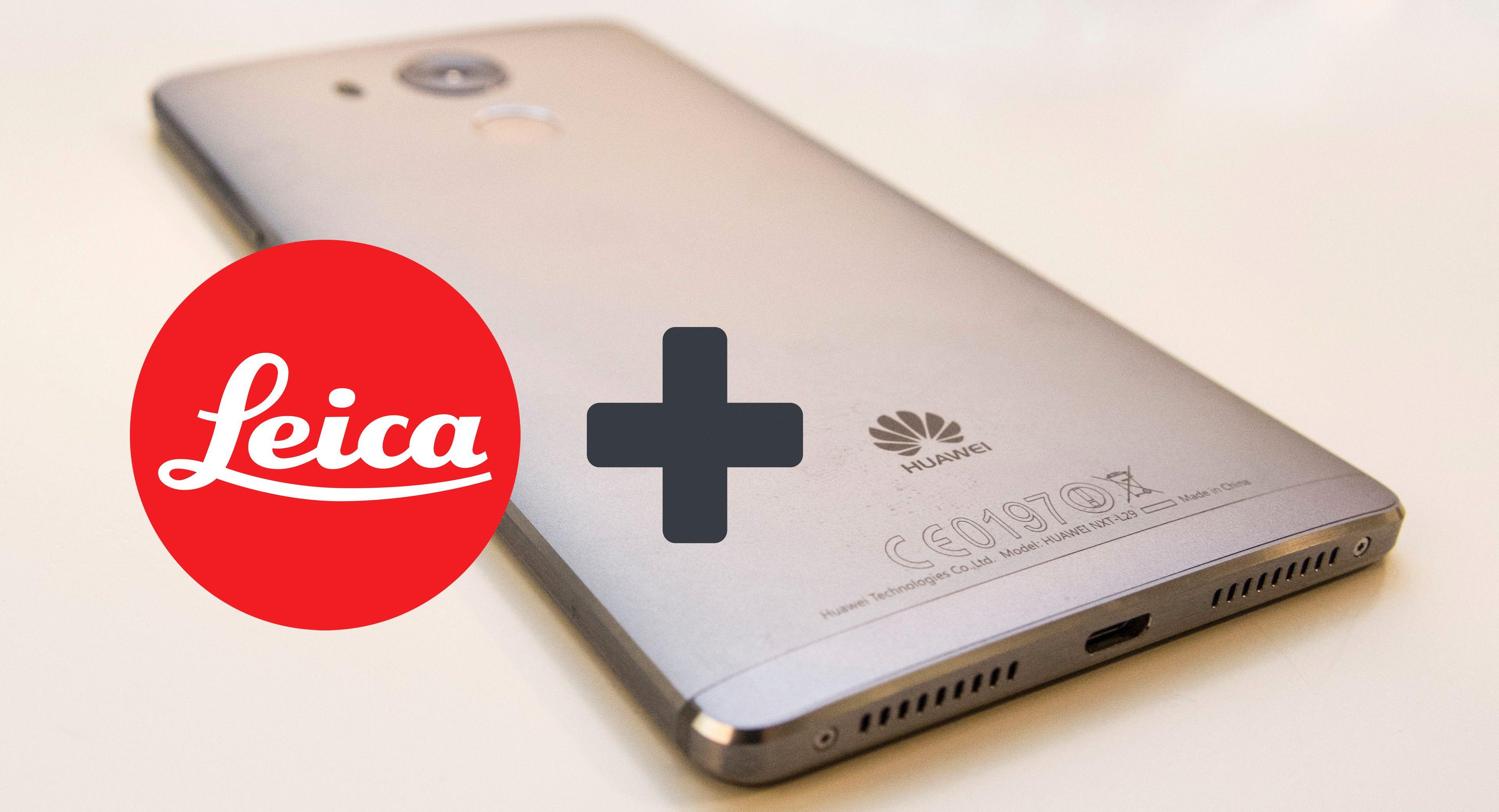 Nå får Huawei Leica-optikk i telefonene sine