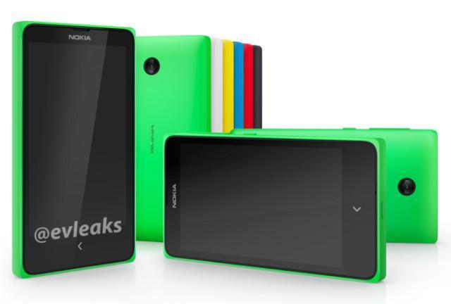 Nokia X («Normandy»).Foto: @evleaks