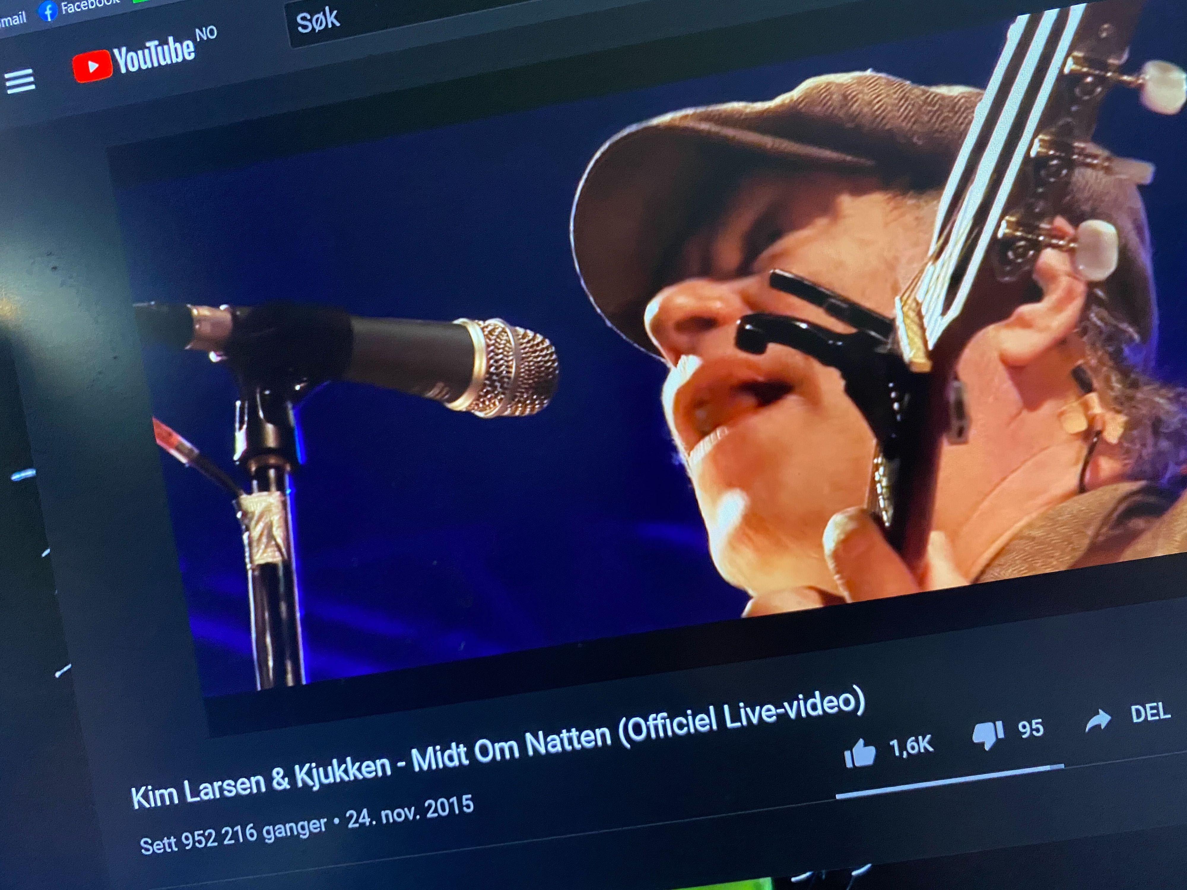 Snart blir det svart som natten for dansk musikk på Youtube. Rettighetsavtalen Google har hatt utløper fra og med august, og danskene har ikke ønsket å forlenge en sterkt rabattert versjon av den.