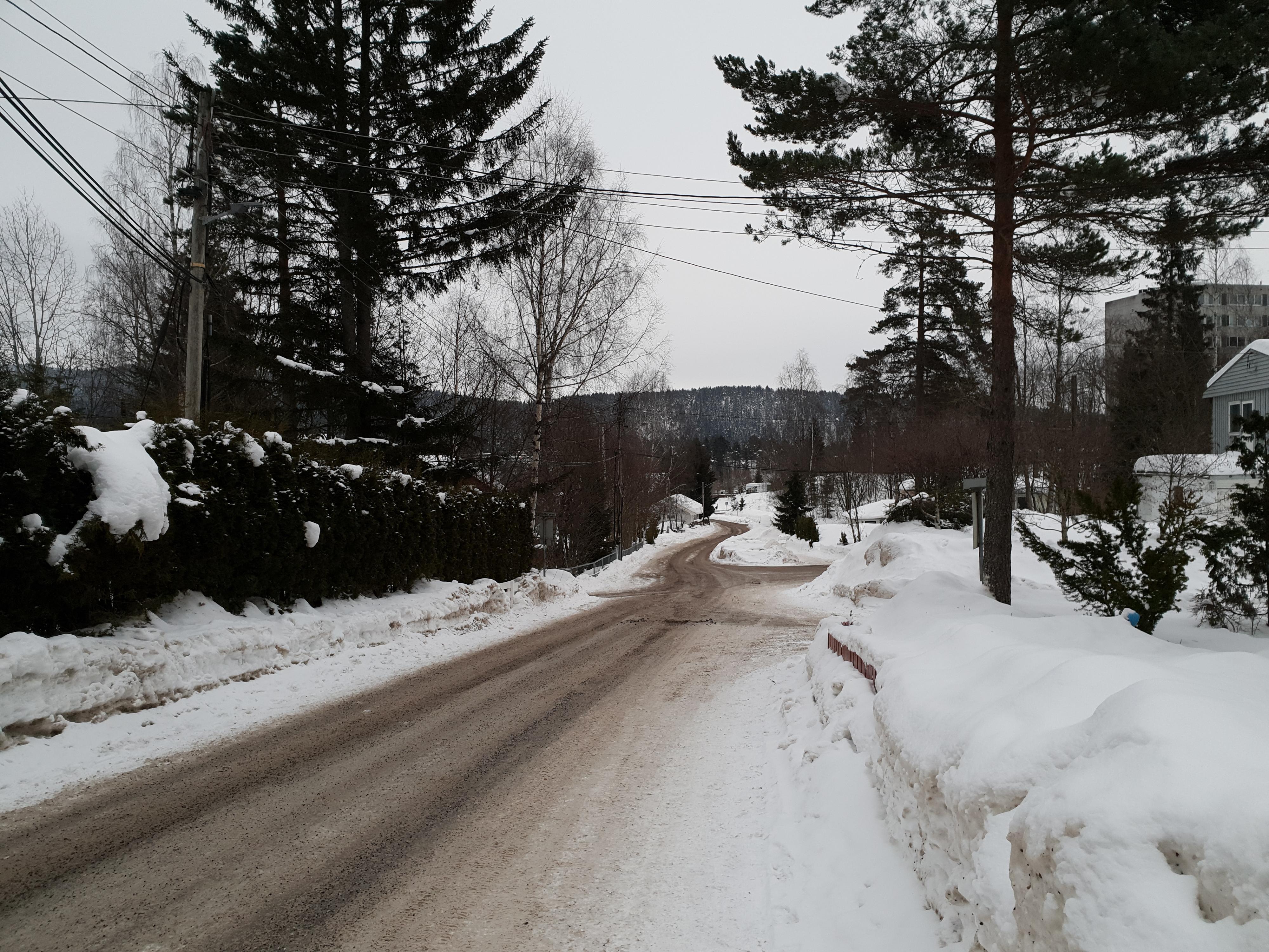 Oslo i gråtoner.