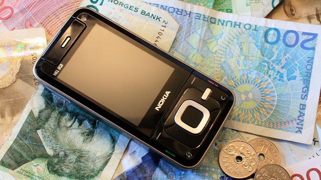 Norge dyrest i Norden på mobiltelefoni